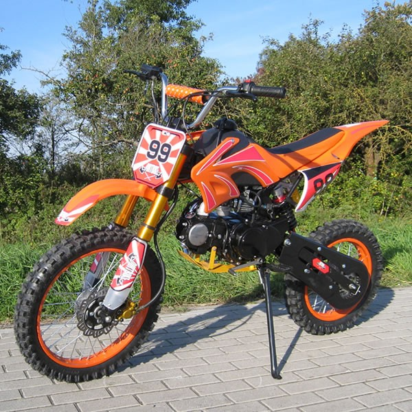 JUGEND CROSS DIRTBIKE JC125 cc 17/14 orange
