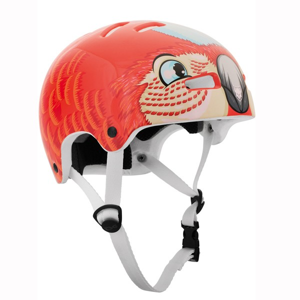 TSG NIPPER Mini Kids Graphic Design Parrot Papagei Helm XXS-XS