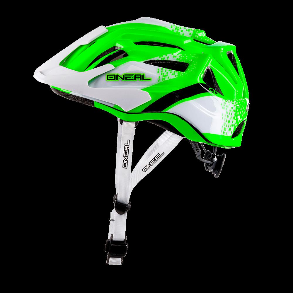 o 39 neal fahrradhelm q helmet wei gr n lineup24. Black Bedroom Furniture Sets. Home Design Ideas