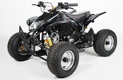 Kinder QUAD 125cc Grizzly 3RG8 schwarz