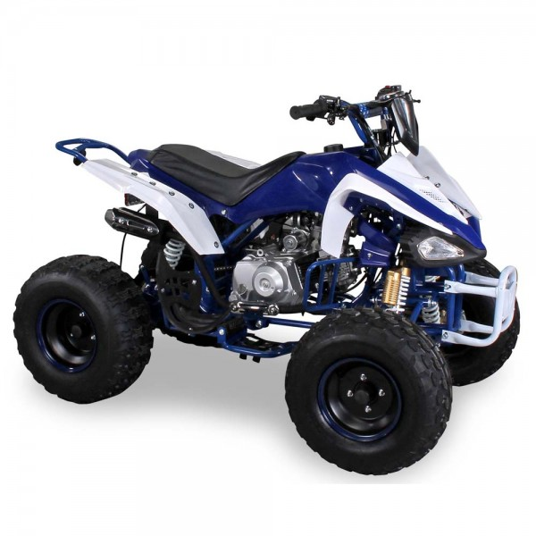 quad atv 125cc panthera s 14 wei blau lineup24. Black Bedroom Furniture Sets. Home Design Ideas
