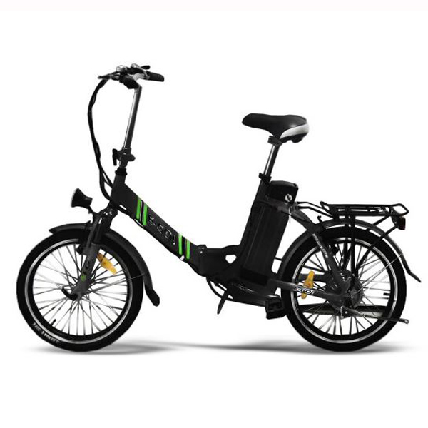 20 elektro bike e go quickline z1 klapprad schwarz. Black Bedroom Furniture Sets. Home Design Ideas