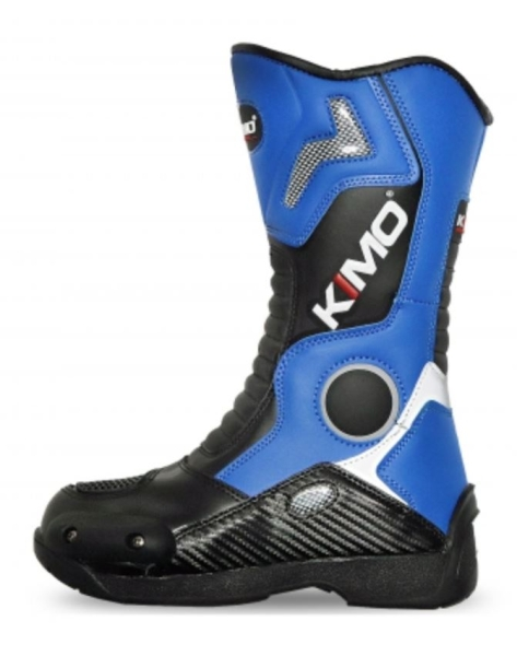 Motocross Kinderstiefel KIMO Protect Boots Gr. 32-38 Blue