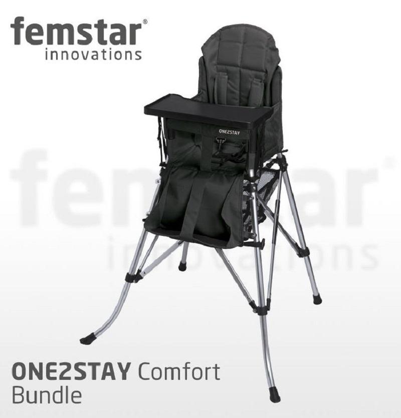 matos bébé : chaise et lit camping Black-5