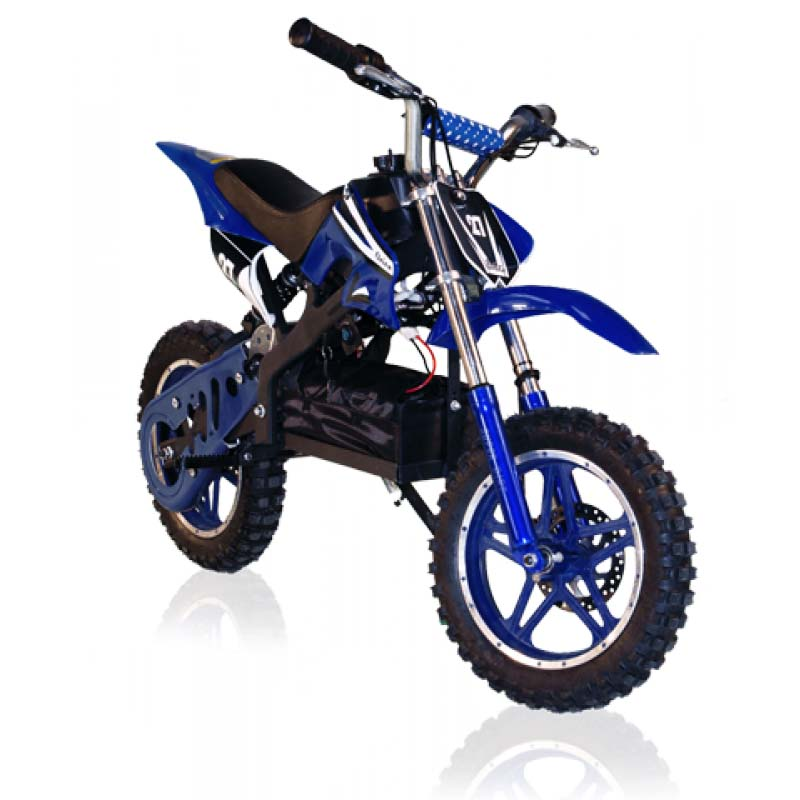 e dirtbike 500w delta blau lineup24. Black Bedroom Furniture Sets. Home Design Ideas
