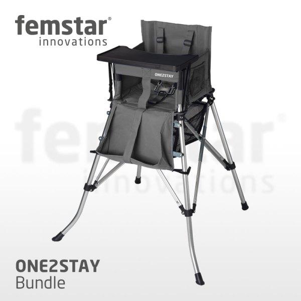 FEMStar Tisch Dining Tray Sitzverkleiner für Hochstuhl FEM Star Camping Kinder