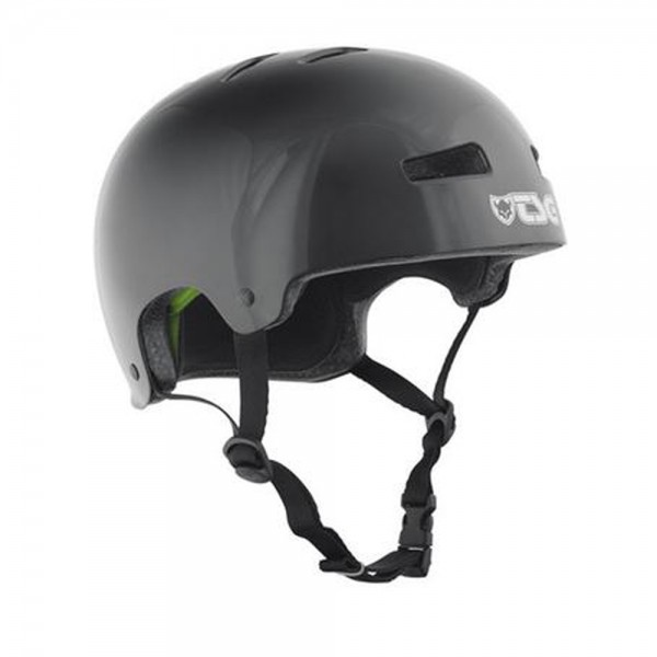 TSG Helmet EVOLUTION Solid Colors injected-black