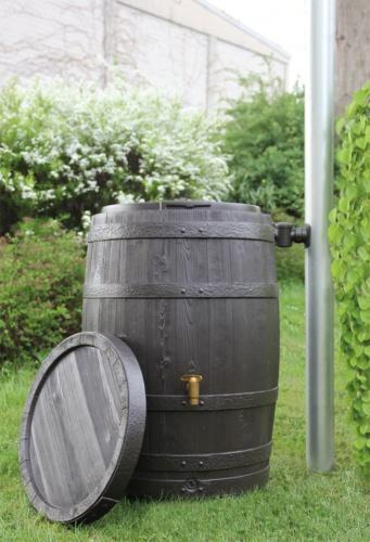 regentonne 250 liter 4rain vino regenfass regenwasser. Black Bedroom Furniture Sets. Home Design Ideas